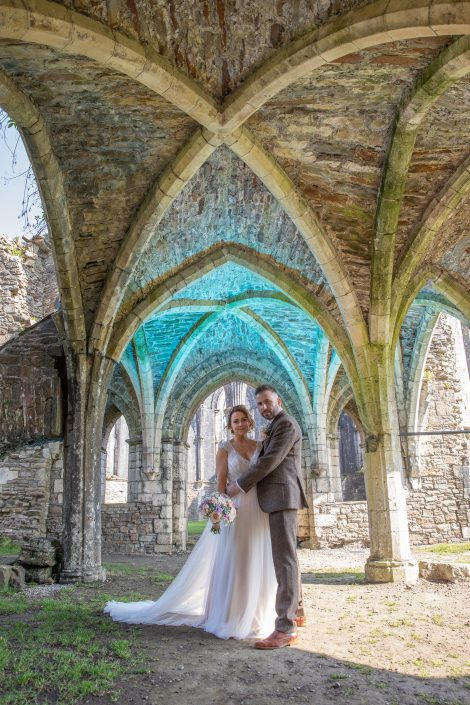 Margam Park Orangery Wedding Photo