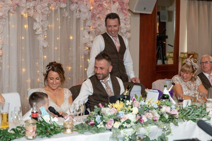 Margam Park Orangery Wedding Photo