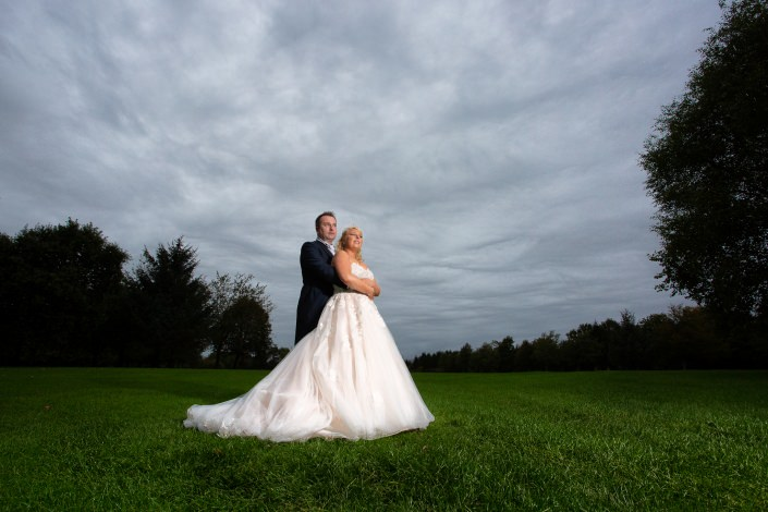 St Marys golf course Bridgend wedding photos